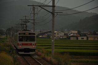 2011年8月11日 上田電鉄別所線 舞田 1000系1001F