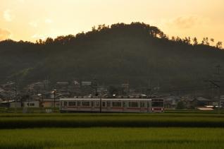 2011年8月11日 上田電鉄別所線 八木沢~舞田 1000系1001F