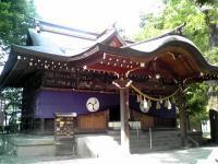 川中島古戦場 八幡社