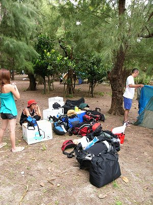 キャンプ準備1