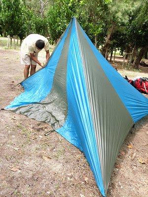 キャンプ準備2