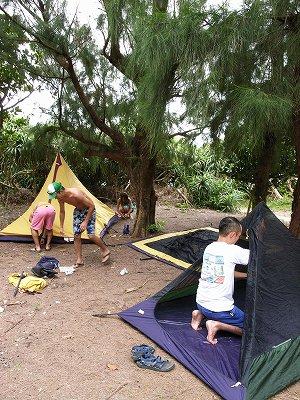 キャンプ準備3