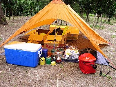 キャンプ準備5