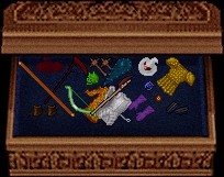 1回の戦闘で3回分称えられた時に貰ったのは、ボンクラx2+緑骨頭ですたっ!