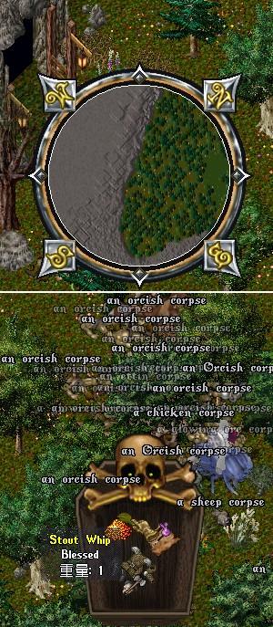 殆ど人が来ないオーク洞窟付近で、紫の薔薇の兄貴奮闘の巻