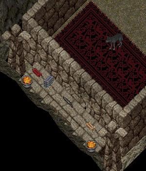 ぱっと見、上下何れかに移動しそうな壁っぽく感じられますが・・・