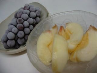 桃&ブドウ