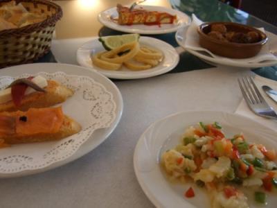 071116 昼食(タパス)