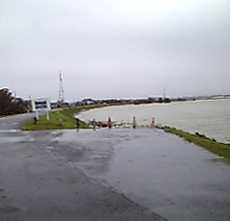 米代川です