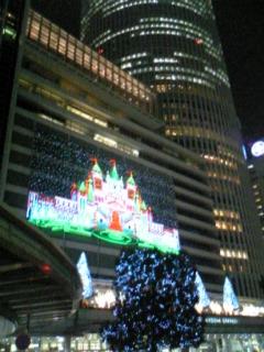 名古屋駅ライトアップ