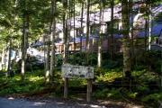 北沢峠に建つ長衛荘