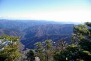 八経ヶ岳からの展望