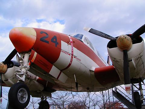 公園の飛行機