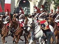 近衛騎兵連隊の儀仗行進