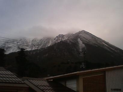2011年11月25日の伯耆大山