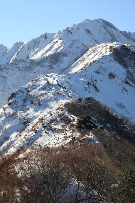 2010年11月21日の伯耆大山