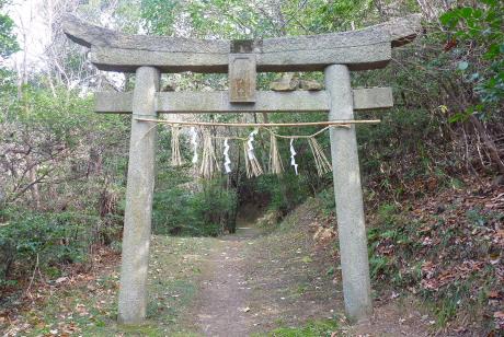 御瀧神社の鳥居