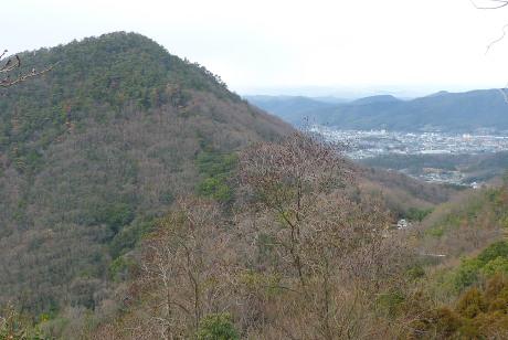 鳥ノ江峠と四尋山