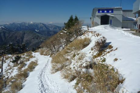西島駅まで下山