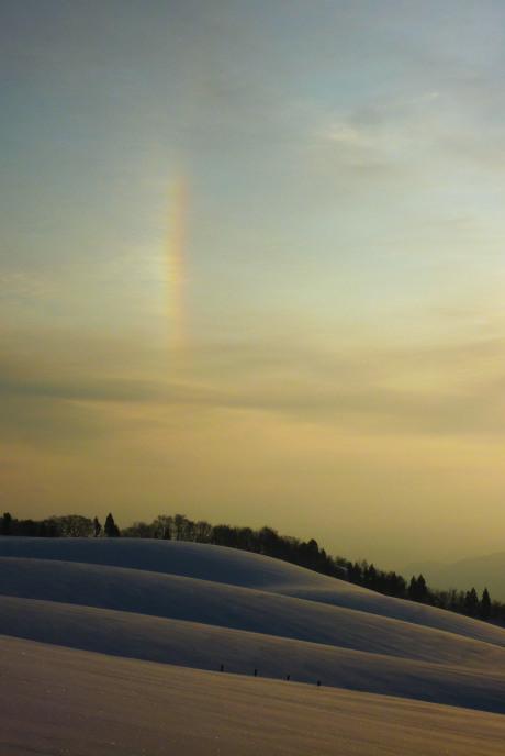 虹のような幻日