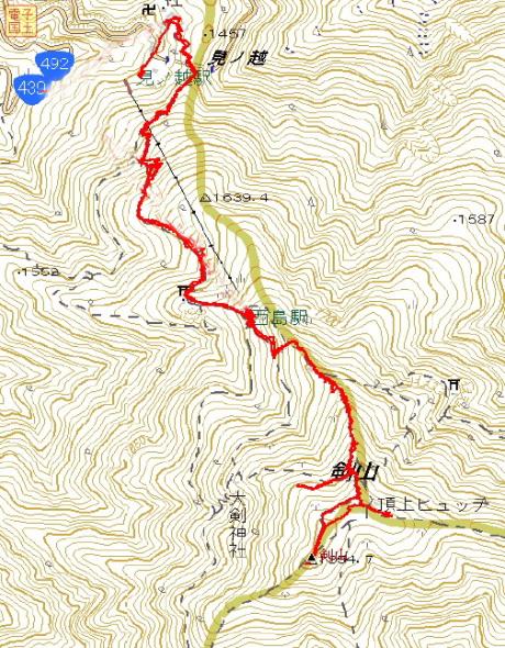 剣山GPSマップ20120211