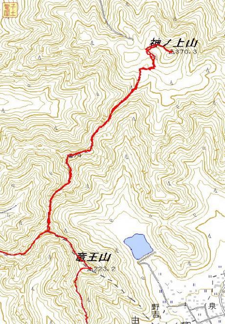 和気アルプスGPSマップ2