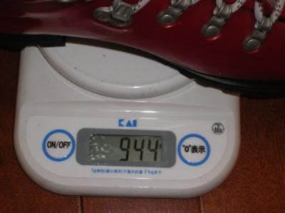 プラ靴の計量