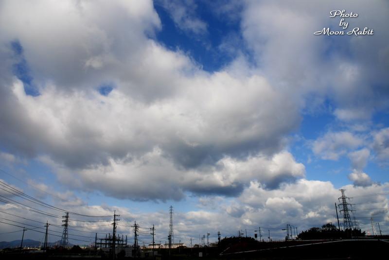 雲の表情 西条市神戸 中西より 06/12/29