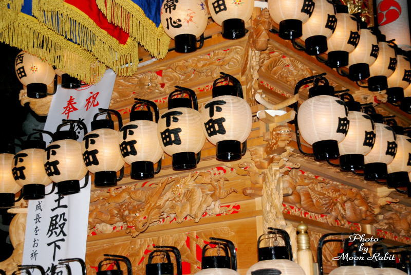 西条市氷見の石岡神社 氷見下町だんじり(屋台) 2007/01/01