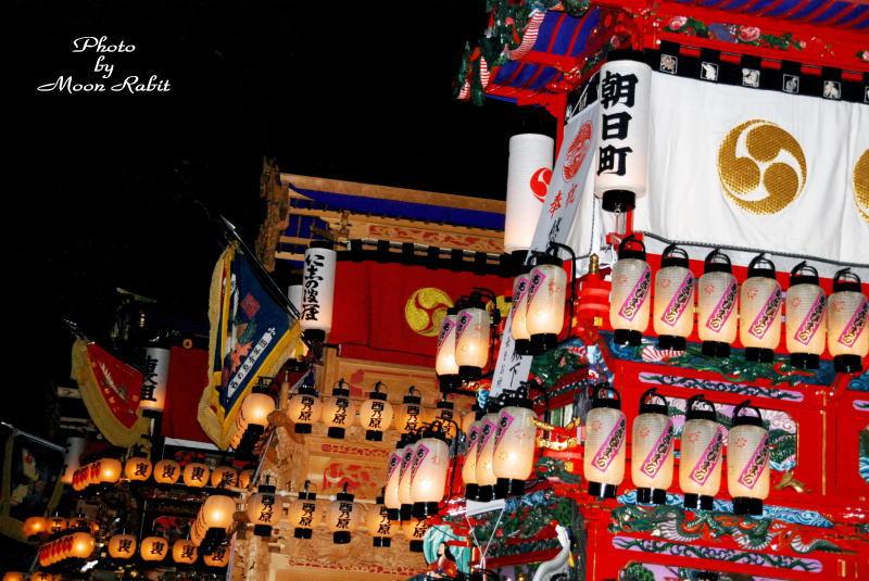 西条市氷見の石岡神社 だんじり4台が奉納 2007/01/01