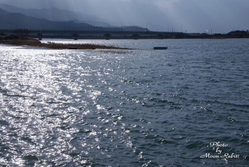 中山川にて 西条市禎瑞 2007/01/07