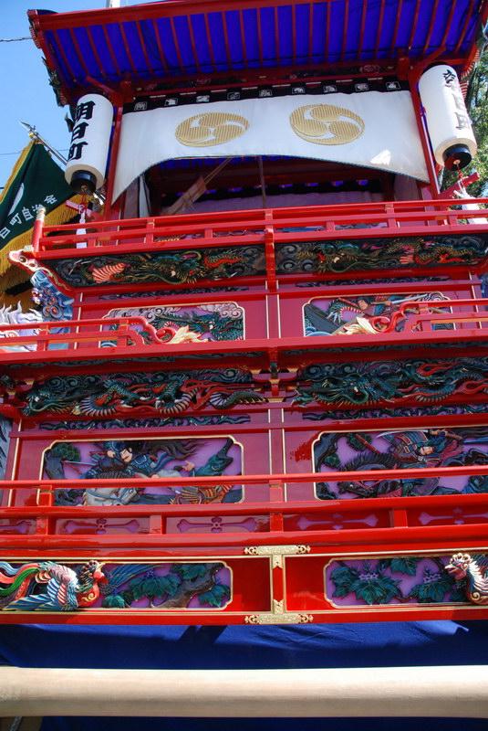 2007 石岡神社祭礼 渡御行列