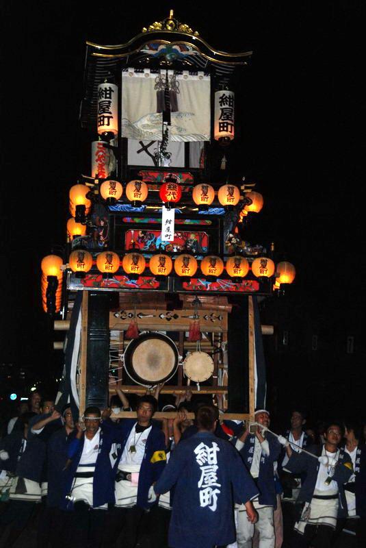 2007 お祭り写真ダイジェスト 西条校区後夜祭