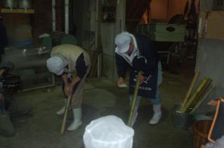 makingひねり餅