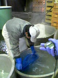 秒単位の吸水調整を要する洗米