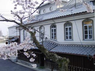 H18.4.5桜ごしの八百新酒造
