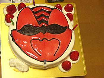 ゲキレンジャーケーキ