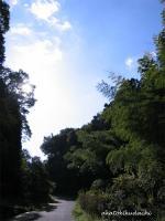 2007/11/13平安台の坂