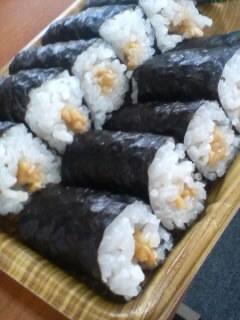 納豆細巻寿司