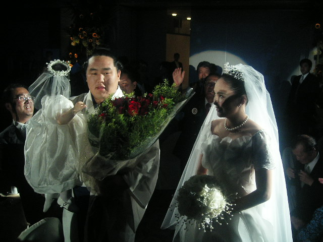 朝青龍結婚