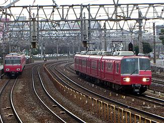 名鉄6000系+5300系