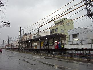 現在の諏訪町駅