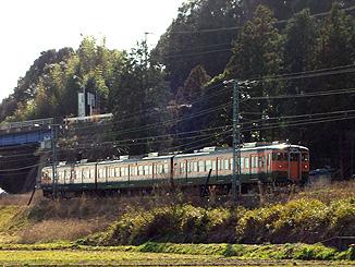 115系@東上~野田城
