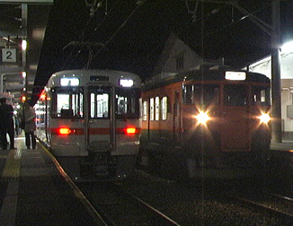 115系→313系@新城駅