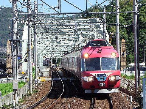 名鉄7000系@犬山遊園