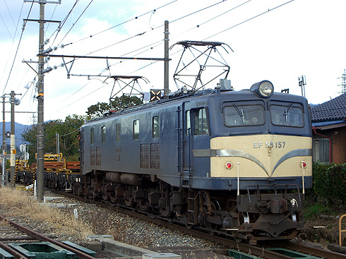 EF58-157+チキ@七久保