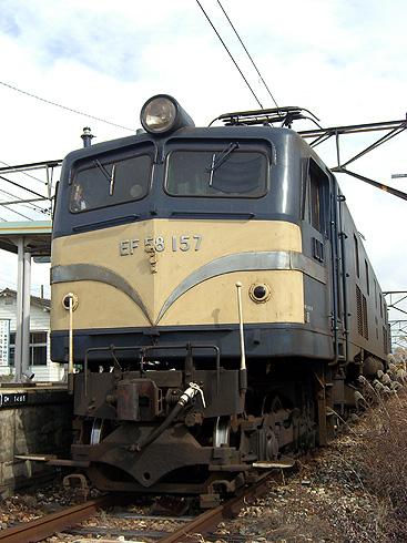 EF58-157@七久保駅