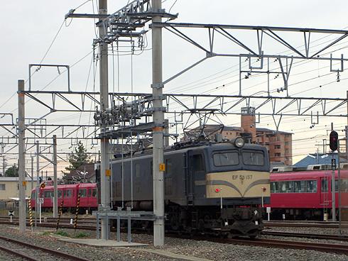 EF58-157@豊川駅