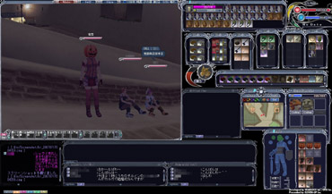 ゆっかのゲーム画面