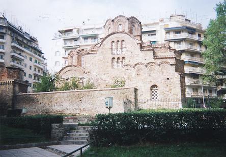 ビザンティンの教会